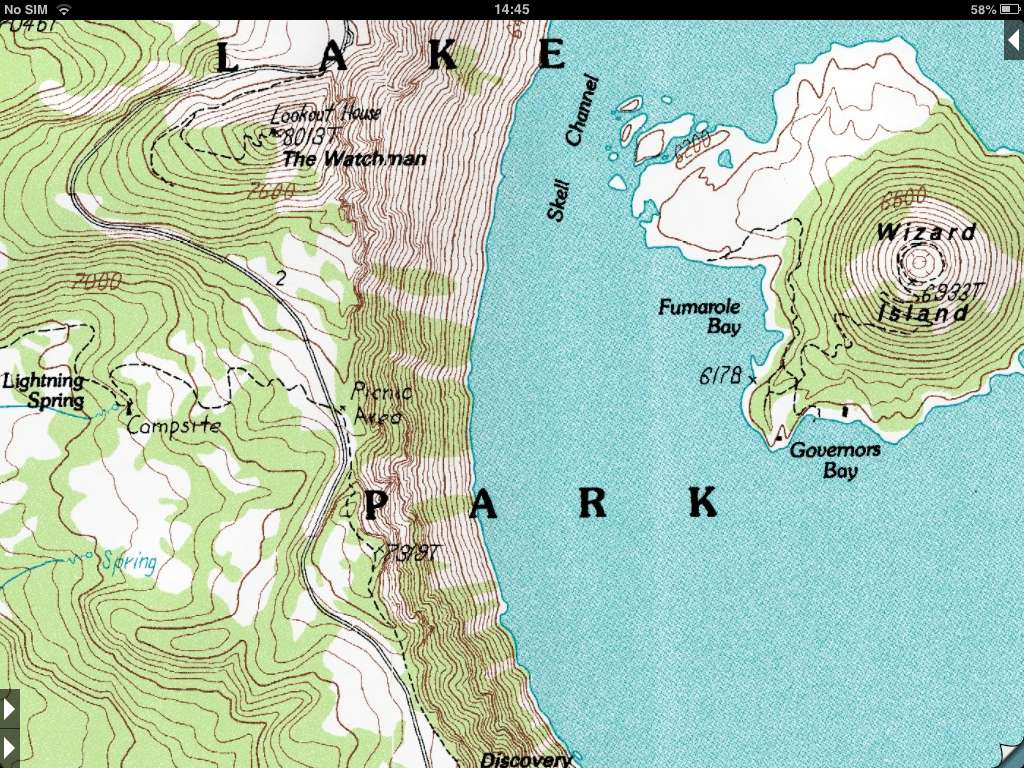 Crater Lake Topographic Map.Topo Maps About Us Topo Maps